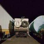 Overnachten tussen de truckers