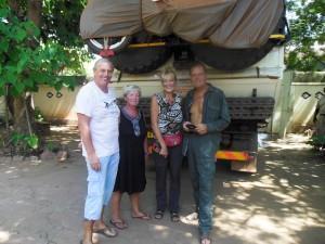 Afscheid van Mike en Marion en de Sleeping Camel