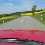 Mooie asfaltwegen in Luxemburg