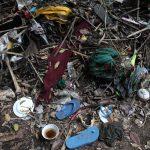 Beenderen op de afvalhoop