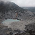 De eerste vulkaan deze reis